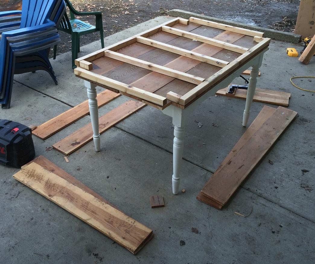 Building a Standing Garden