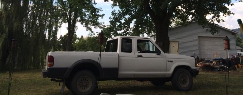 1992 Ford Ranger – White